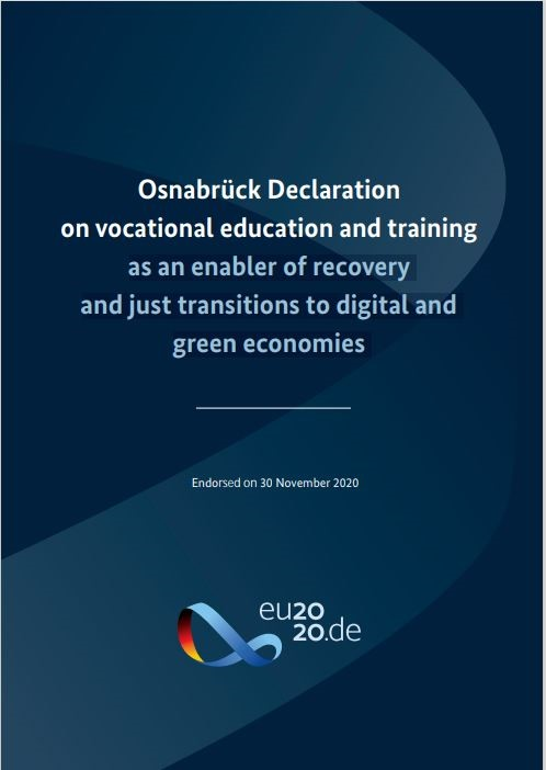 New European strategic framework for vocational education and training