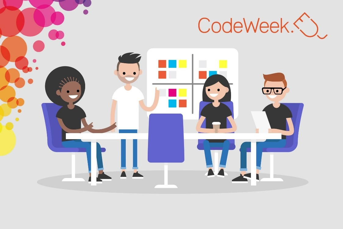 Join the #CodeWeek (10 October – 25 October 2020)