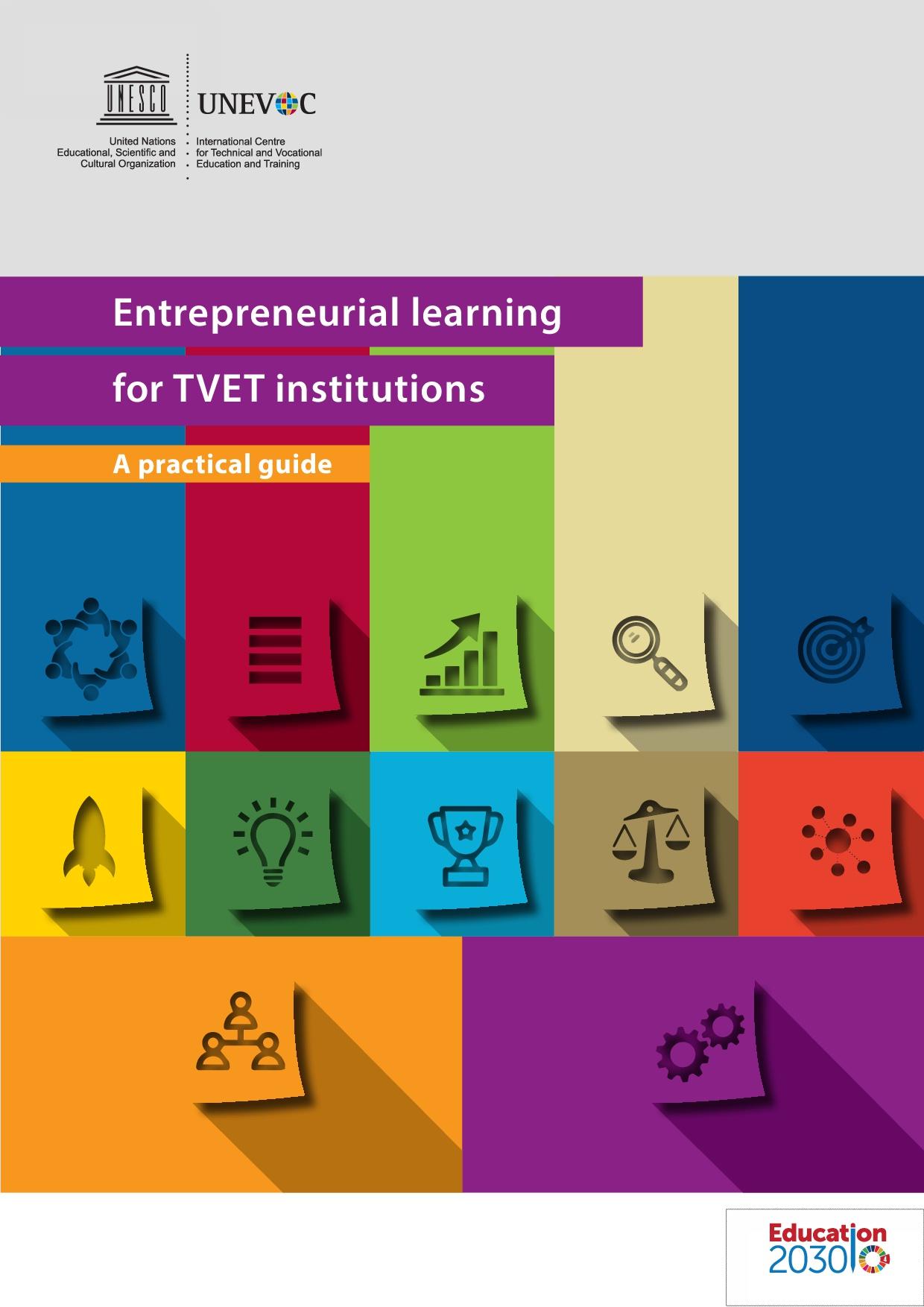 Entrepreneurial learning for VET institutions – a practical guide