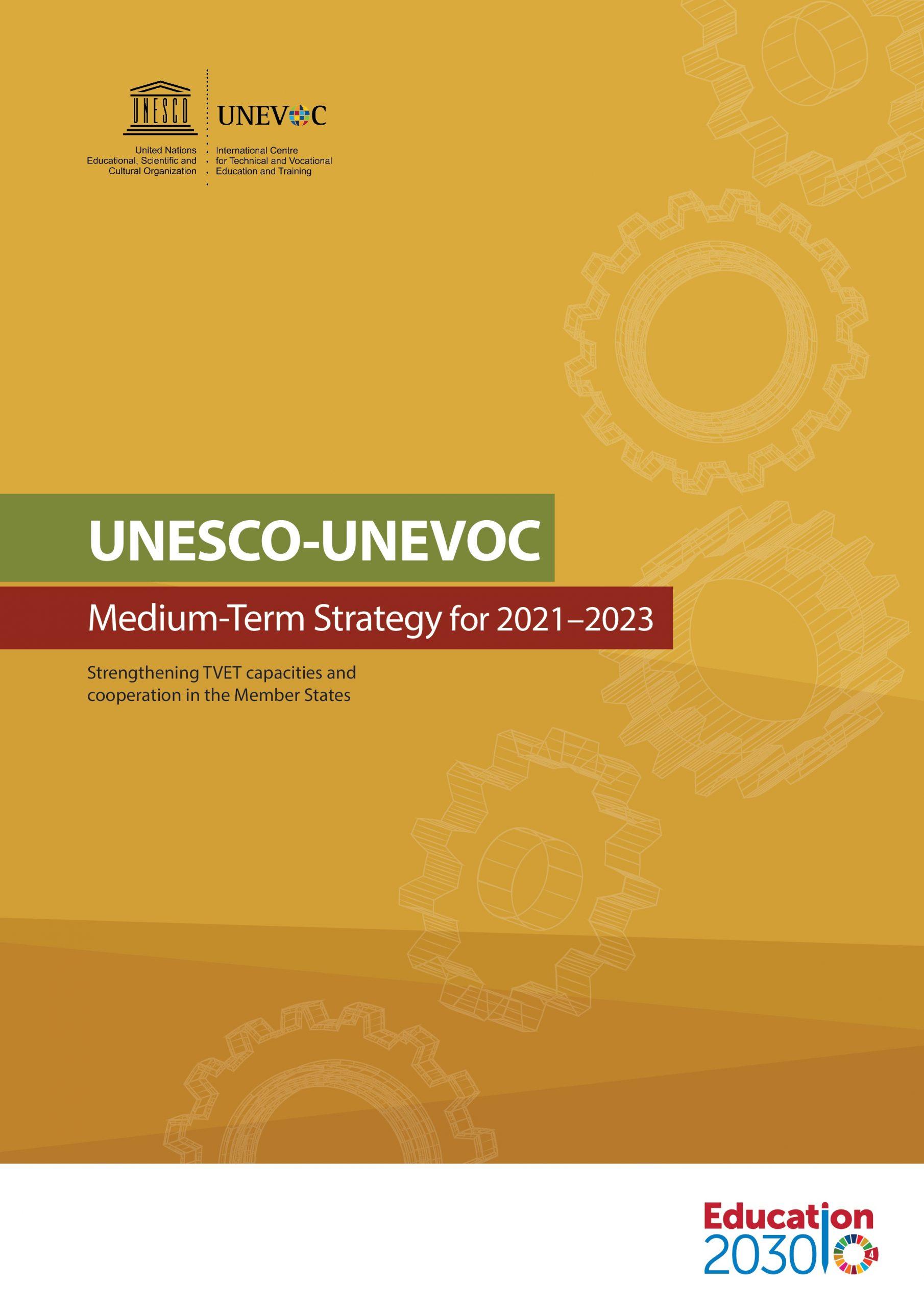 UNESCO – UNEVOC Strategy 2021 – 2023