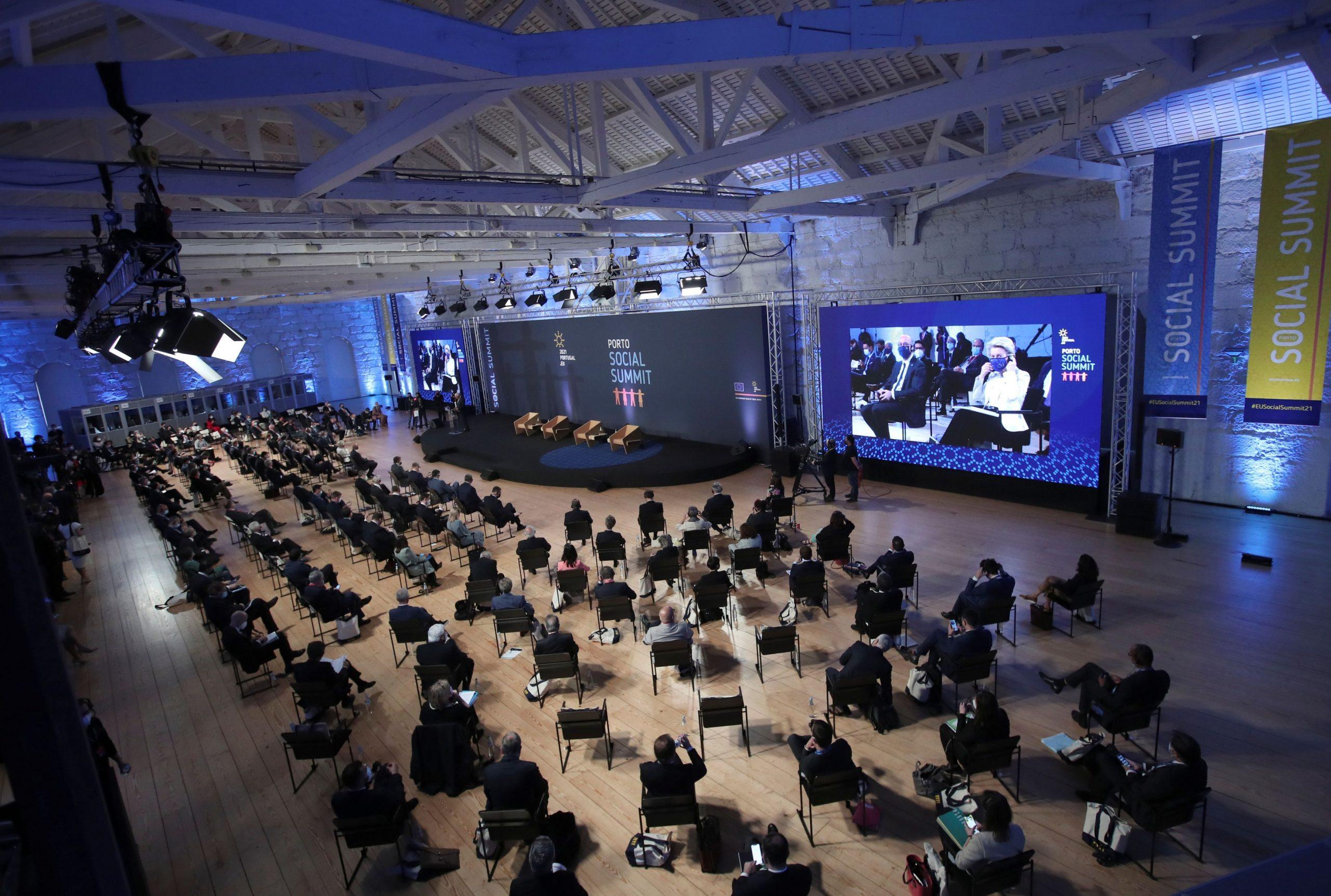 Društvena konferencija u Portu: svi partneri potpisali ciljeve do 2030. godine.