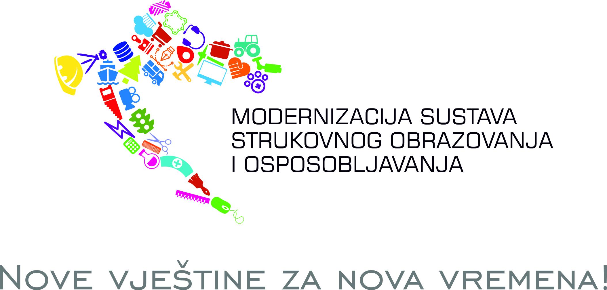 """Objavljeni Javni pozivi za prijavu kandidata za koordinatore i članove Radnih skupina za izradu sektorskog kurikuluma i strukovnih kurikuluma u okviru ESF projekta """"Modernizacija sustava strukovnog obrazovanja i osposobljavanja"""""""
